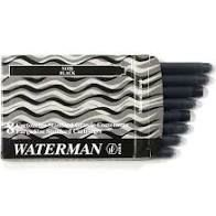 CARTUCHO PLUMA WATERMAN NEGRO