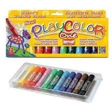 TEMPERA SOLIDA PLAYCOLOR ONE 12 INSTANT