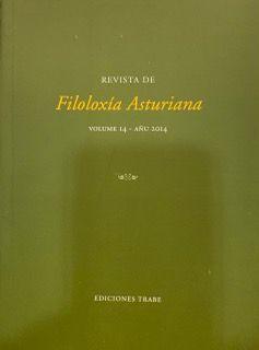 REVISTA DE FILOLOXÍA ASTURIANA VOLUMEN 14 - AÑU 2014