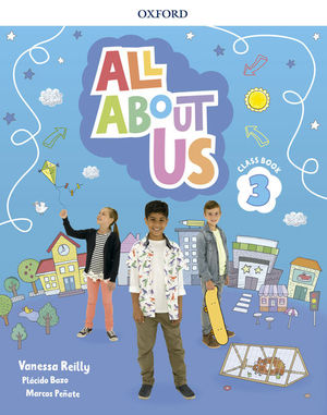 ALL ABOUT US 3ºEP CLASS BOOK (OXFORD)