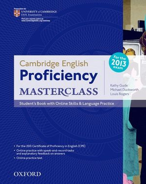 PROFICIENCY MASTERCLASS (CPE) STUDENT'S BOOK & ONLINE SKILLS