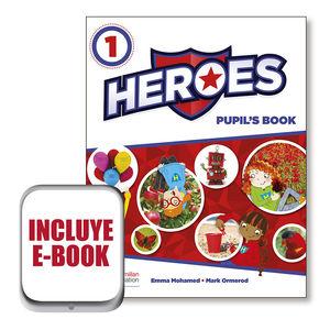 HEROES 1ºEP PUPIL'S BOOK PACK (MACMILLAN)