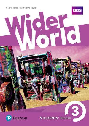 WIDER WORLD 3ºESO STUDENT'S BOOK (PEARSON)