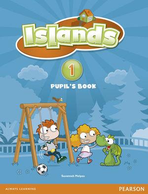 ISLANDS SPAIN PUPILS BOOK 1 + KATIE GROWS A BEAN PLANT PACK