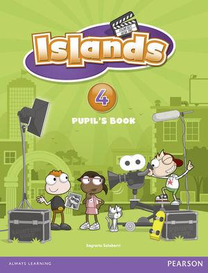 ISLANDS SPAIN PUPILS BOOK 4 + BRAIN GYM PACK
