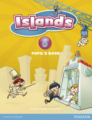 ISLANDS SPAIN 6ºEP PUPILS BOOK +OUR CHANGING PLANET PACK (PEARSON)