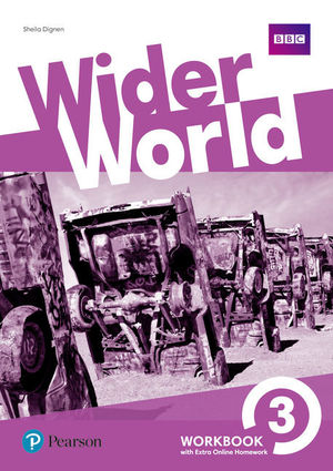 WIDER WORLD 3ºESO WB +EXTRA ONLINE HOMEWORK PACK (PEARSON)