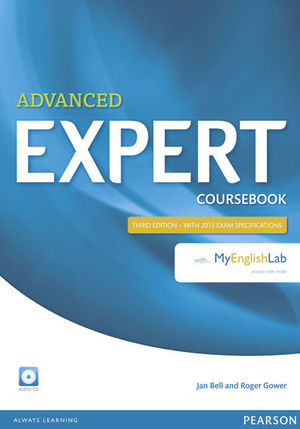 EXPERT ADVANCED 3RD EDITION COURSEBOOK WITH AUDIO CD AND MYENGLISHLAB PACK
