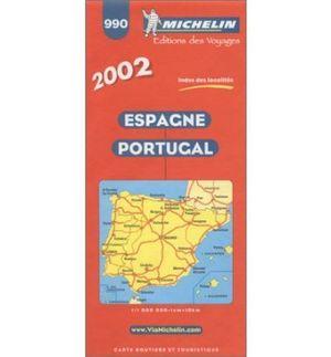 MAPA 990 ESPAÑA-PORTUGAL