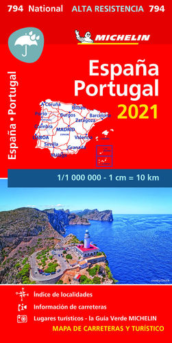 MAPA NATIONAL 794 ESPAÑA&PORTUGAL