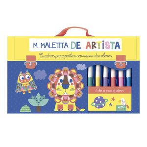 MALETIN ARTISTA, ARENAS DE COLORES