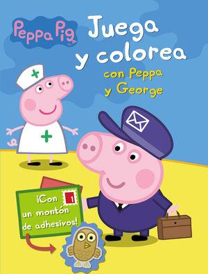 JUEGA Y COLOREA CON PEPPA Y GEORGE (PEPPA PIG)