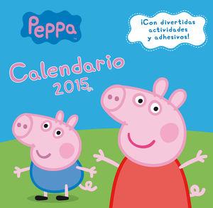 CALENDARIO PEPPA PIG 2015