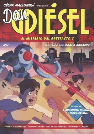 DAN DIESEL (1) MISTERIO DEL ARTEFACTO C