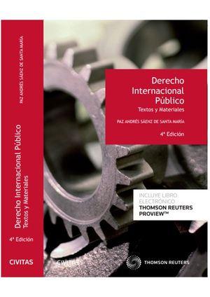 DERECHO INTERNACIONAL PÚBLICO. TEXTOS Y MATERIALES (PAPEL + E-BOOK)
