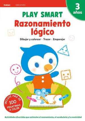 PLAY SMART 3AÑOS RAZONAMIENTO LÓGICO