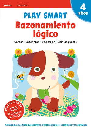 PLAY SMART 4AÑOS RAZONAMIENTO LÓGICO