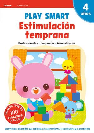 PLAY SMART 4AÑOS ESTIMULACIÓN TEMPRANA