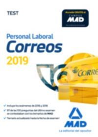 CORREOS 2019 PERSONAL LABORAL. TEST (MAD)