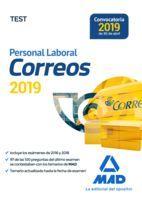 PERSONAL LABORAL (2019) CORREOS Y TELÉGRAFOS. TEST (MAD)