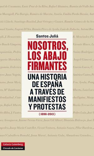 NOSOTROS, LOS ABAJO FIRMANTES