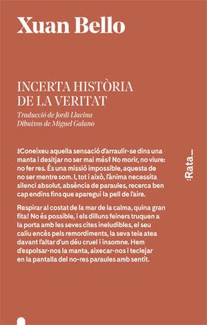 INCERTA HISTÒRIA DE LA VERITAT