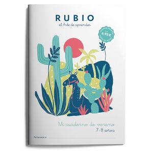 MI CUADERNO DE VERANO RUBIO 7-8 AÑOS
