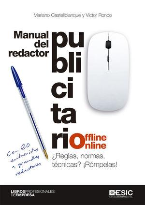 MANUAL DEL REDACTOR PUBLICITARIO OFFLINE ONLINE