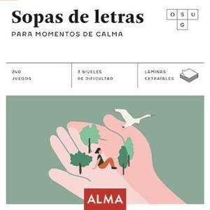 SOPAS DE LETRAS PARA MOMENTOS DE CALMA