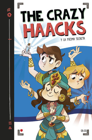 THE CRAZY HAACKS Y LA PÓCIMA ETERNA (SERIE THE CRAZY HAACKS 8)