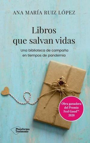 LIBROS QUE SALVAN VIDAS PREMIO FEEL GOOD
