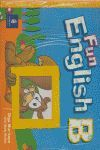 FUN ENGLISH B PUPIL'S BOOK + PEGATINAS