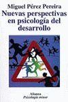 NUEVAS PERSPECTIVAS EN PSICOLOGÍA DEL DESARROLLO