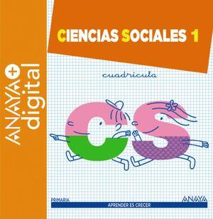 CIENCIAS SOCIALES 1.CUADRÍCULA.  PRIMARIA.ANAYA + DIGITAL. 2016
