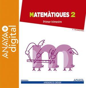 MATEMÀTIQUES 2. PRIMÀRIA. ANAYA + DIGITAL.