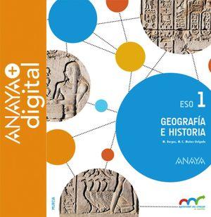 GEOGRAFÍA E HISTORIA 1. ESO. ANAYA + DIGITAL.