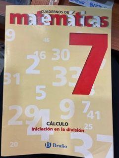 CUADERNO MATEMÁTICAS (7) (BRUÑO)
