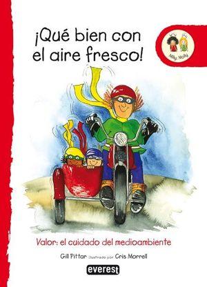 ¡QUÉ BIEN CON EL AIRE FRESCO!