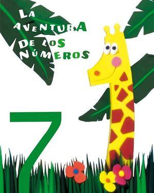LA AVENTURA DE LOS NÚMEROS 7 (EVEREST)