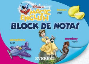 BLOCK DE NOTAS MAGIC ENGLISH. ESCRIBE Y APRENDE