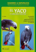 EL YACO O LORO GRIS AFRICANO (SALVEMOS LA NATURALEZA)