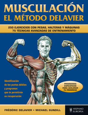 MUSCULACIÓN. EL MÉTODO DELAVIER (AZUL)