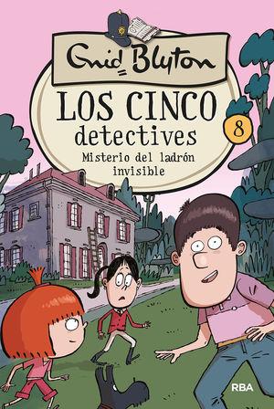 MISTERIODE DEL LADRON INVISIBLE. LOS CINCO DETECTIVES 8