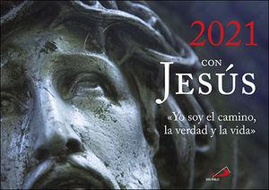 CALENDARIO DE PARED 2021 CON JESÚS