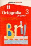 CUADERNO ORTOGRAFIA 3 EN PAUTA PRIMARIA SIGNOS DE INTERROGACION Y ADMIRACION. BR