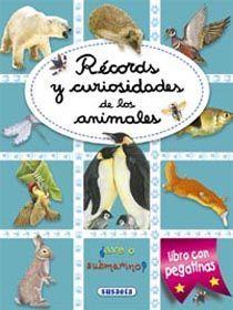 RÉCORDS Y CURIOSIDADES DE LOS ANIMALES CON PEGATINAS