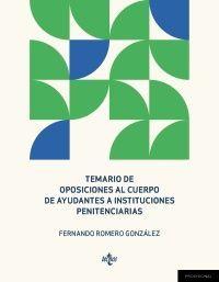 TEMARIO DE OPOSICIONES AL CUERPO DE AYUDANTES DE INSTITUCIONES PE