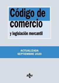 CÓDIGO DE COMERCIO Y LEGISLACIÓN MERCANTIL (ACT.2020 SEPTIEMBRE)