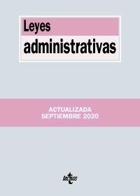 LEYES ADMINISTRATIVAS (ACT.2020 SEPTIEMBRE)