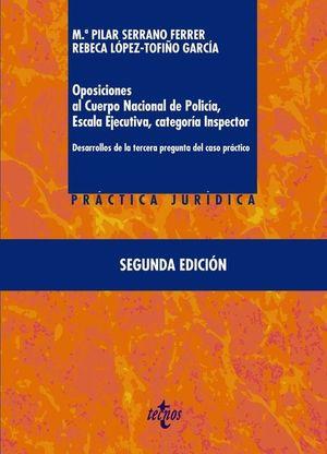 OPOSICIONES AL CUERPO NACIONAL DE POLICÍA, ESCALA EJECUTIVA CATEG